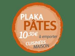 promo Plaka avec Pâtes